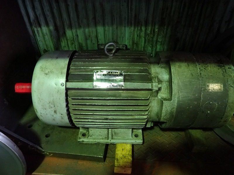 旧型モーターの電磁ブレーキコイル巻き替え