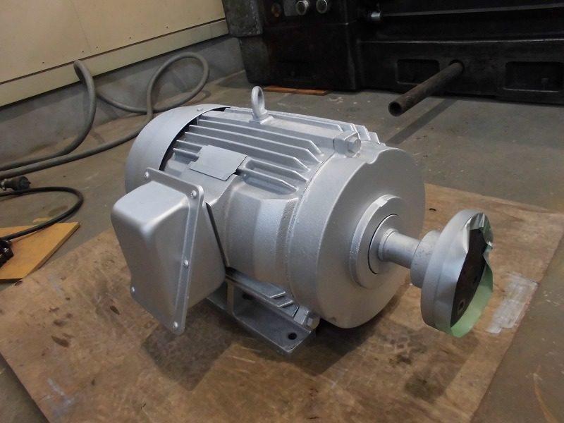廃水ポンプ用モーターのオーバーホール