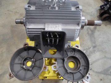 廃水ポンプ用モーター オーバーホール