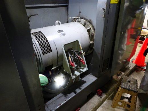 コンプレッサー用のモーター(160KW)