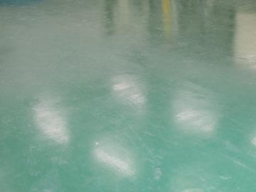 搬送用エレベータ床帯電防止塗装