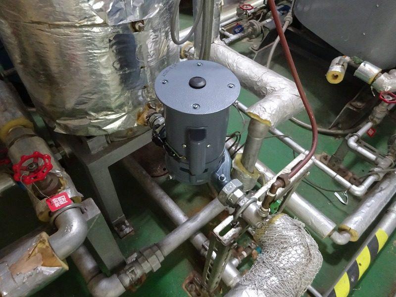 ボイラー給水ポンプの更新工事