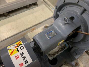 冷却水循環用ポンプのメンテナンス